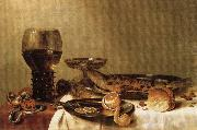 HEDA, Willem Claesz. Still Life oil painting picture wholesale