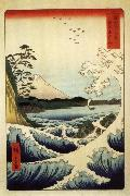 Hiroshige, Ando Fuji from the Gulf of Suruga oil painting picture wholesale