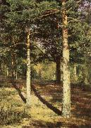 Ivan Shishkin Pine Wood Illuminated by the Sun oil painting picture wholesale