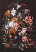 Jan Davidsz. de Heem Fresh flowers and Vase oil painting picture wholesale