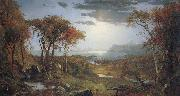Jasper Cropsey Autumn on the Hudson River oil painting picture wholesale