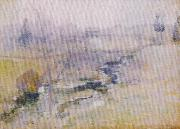 John Henry Twachtman End of Winter oil painting picture wholesale