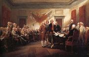 John Trumbull The Declaration of Independence 4 july 1776 oil painting picture wholesale