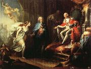 Jose Aparicio Inglada Godoy Presenting Peace to Charles IV oil painting picture wholesale