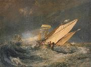 Joseph Mallord William Turner Fishing boats entering calais harbor oil painting picture wholesale