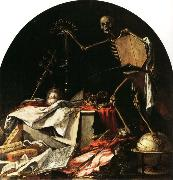 Juan de Valdes Leal Allegory of Death oil painting artist