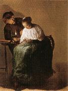 Judith leyster The Proposition oil painting artist