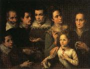 Lavinia Fontana Family Portrait oil painting artist