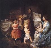 Lilly martin spencer War Spirit at Home oil painting picture wholesale