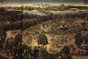 Lucas Cranach The Stag Hunt oil painting artist