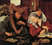 Marinus van Reymerswaele A Moneychangr and His Wife oil painting picture wholesale