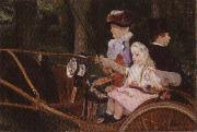 Mary Cassatt A Woman and a Girl Driving oil painting picture wholesale