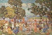 Maurice Prendergast The Promenade oil painting picture wholesale