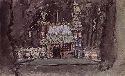 Mikhail Vrubel The Gingerbread House oil painting picture wholesale