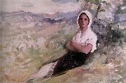 Nicolae Grigorescu Sepherdess oil painting picture wholesale