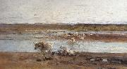 Nicolae Grigorescu Herd by the River oil painting picture wholesale