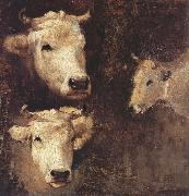 Nicolae Grigorescu Oxen oil painting picture wholesale