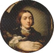 PARMIGIANINO Self-portrait in a Convex Mirror oil painting picture wholesale