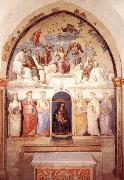 PERUGINO, Pietro Trinity and Six Saints oil painting picture wholesale