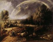 Peter Paul Rubens Landscape with Rainbow oil painting picture wholesale