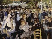 Pierre-Auguste Renoir Dance at the Moulin de la Galette oil painting picture wholesale