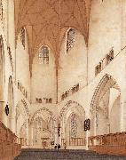 Pieter Jansz Saenredam Interior of the Choir of St Bavo at Haarlem oil painting picture wholesale