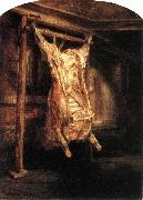 REMBRANDT Harmenszoon van Rijn The Flayed Ox oil painting picture wholesale