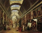 ROBERT, Hubert View of the  Grande Galerie oil painting picture wholesale