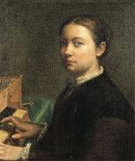 Sofonisba Anguissola Self-Portrait at the Spinet oil painting picture wholesale