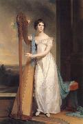 Thomas Sully Lady with a Harp:Eliza Ridgely oil painting picture wholesale