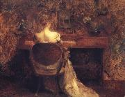 Thomas Wilmer Dewing The Spinet oil painting picture wholesale
