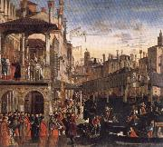 Vittore Carpaccio Cureof a Lunatic by the Patriarch of Grado oil painting picture wholesale