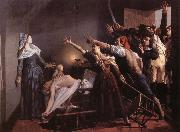 Weerts Jean Joseph l'Assassinat de Marat oil painting artist