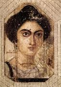 unknow artist Funerary Portrait of Womane from El Fayum oil painting picture wholesale