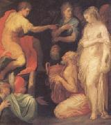 ABBATE, Niccolo dell The Continence of Scipio (mk05) oil