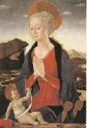 Alessio Baldovinetti The Virgin and Child (mk05) oil