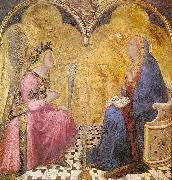 Ambrogio Lorenzetti Annunciation oil painting picture wholesale