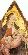 Ambrogio Lorenzetti Nursing Madonna oil painting picture wholesale