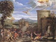 Annibale Carracci The Stoning of ST.Stephen (mk05) oil