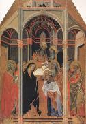 Bartolo di Fredi The Presentation in the Temple (mk05) oil painting picture wholesale