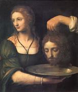 Bernadino Luini Salome Receiving the Head of John the Baptist (mk05) oil