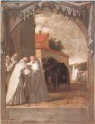 CARDUCHO, Vicente ST Bernard of Clairvaux (mk05) oil painting artist