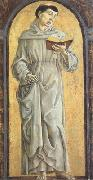 Cosimo Tura Anthony of Padua Reading (mk05) oil painting artist