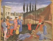 Fra Angelico The Martyrdom of Saints Cosmas and Damian (mk05) oil painting picture wholesale