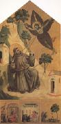 GIOTTO di Bondone Francis Receiving the Stigmata (mk05) oil painting picture wholesale