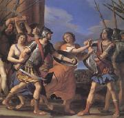 GUERCINO Hersilia Separating Romulus from Tatius (mk05) oil painting picture wholesale