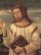 Giovanni Bellini Christ Blessing (mk05) oil painting picture wholesale