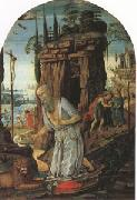 Jacopo di Arcangelo called jacopo del sellajo st Jerome in he Desert (mk05) oil painting artist