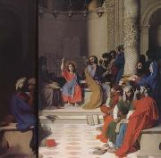 Jean Auguste Dominique Ingres Jesus among the Scribes (mk04) oil painting picture wholesale