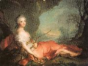 Jean Marc Nattier Marie-Adlaide of France as Diana oil painting picture wholesale